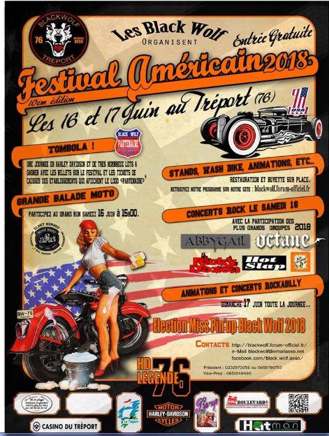 MANIFESTATION - Festival americain du Treport 147810