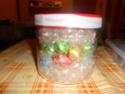 Barattolo decorato e utilizzato come contenitore per i cioccolatini. Dscn4815