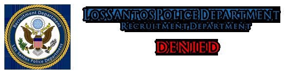 Lamaran pendaftaran LSPD    Jack Mark Denied11