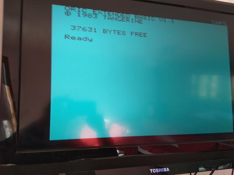Branchement sur LCD écran noir Oric10