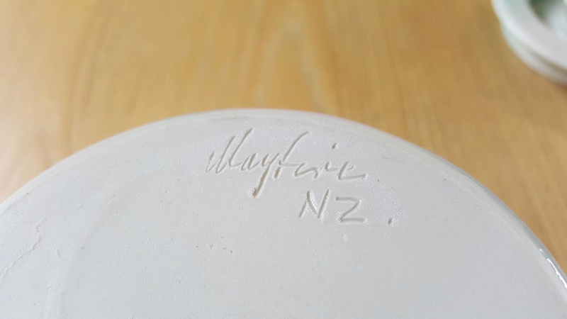 Is this a Seymour May piece by Mayfire Pottery? 27946913