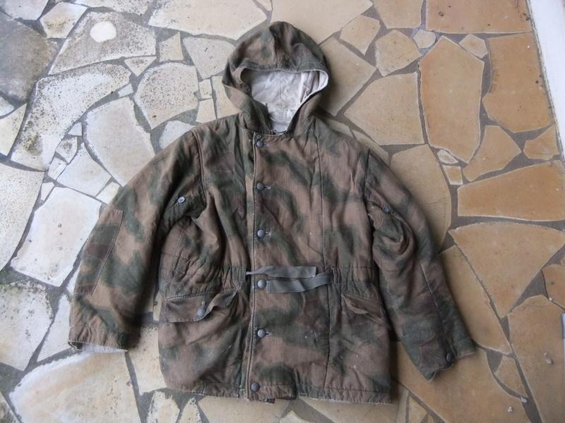 Parka camouflage flou réversible  Dscf4829