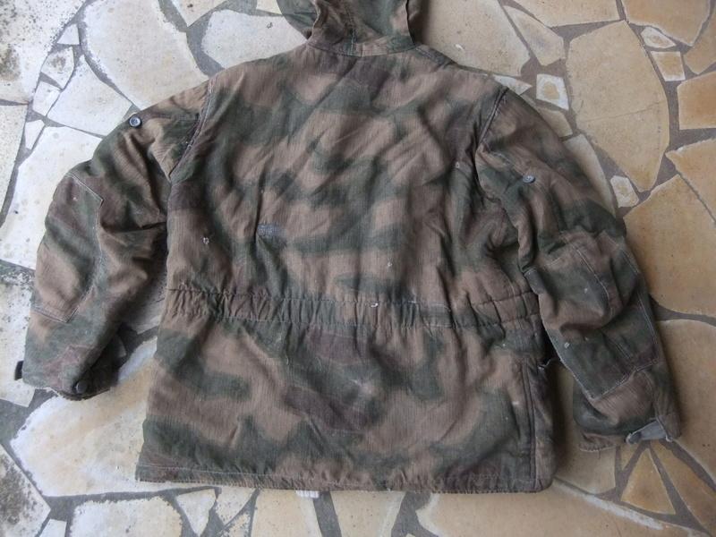 Parka camouflage flou réversible  Dscf4835