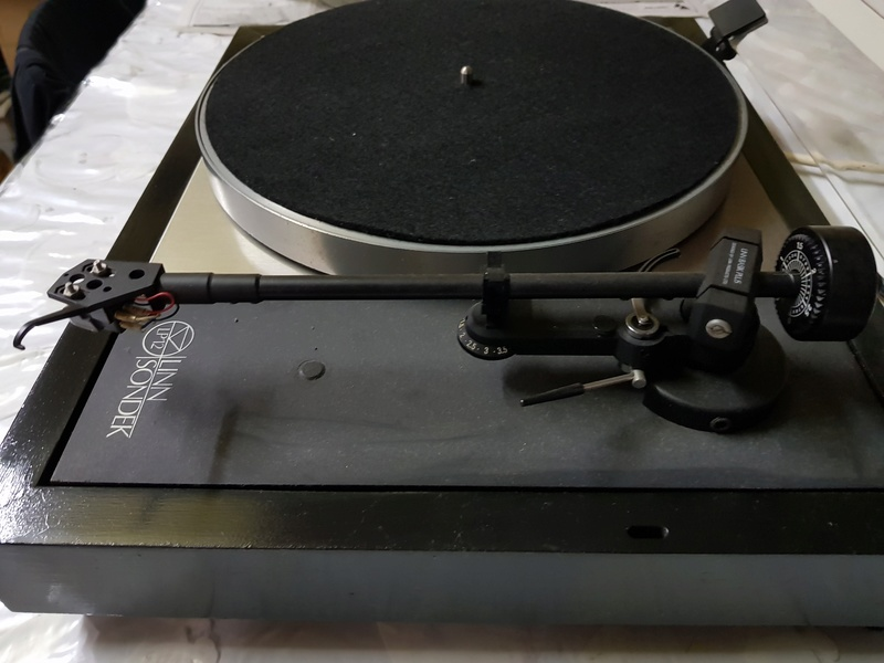 SOLD - Linn Sondek LP12 Turntable with Basik Plus arm. 20180115