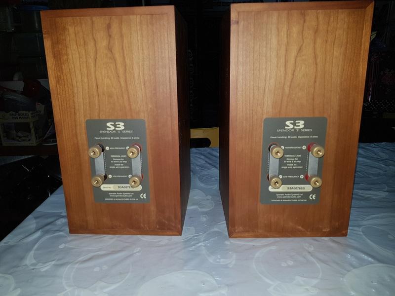Spendor S3 standamount Hi-Fi Speaker 20180123