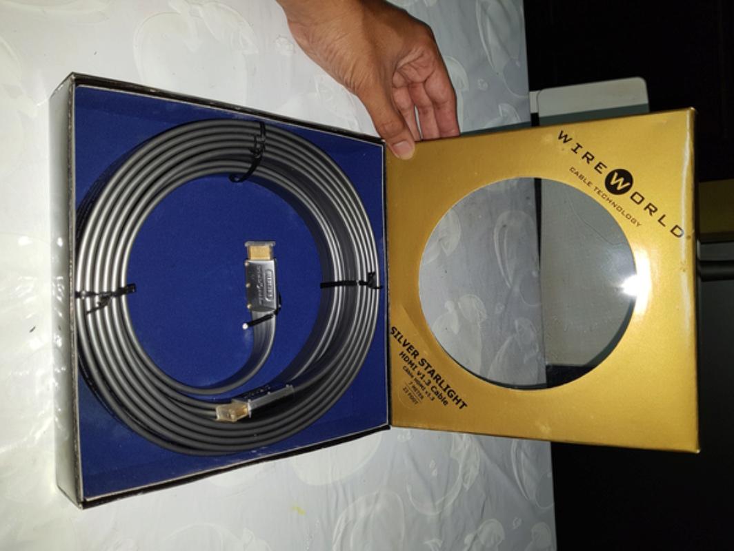 HDMI Cable - Wire World Silver Starlight  20180124