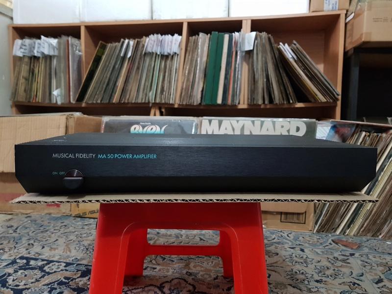 SOLD - Musical Fidelity MA50 Class-A Monoblock Amplifier 20180317