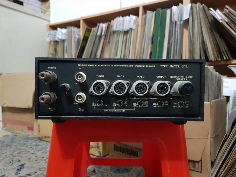 Naim NAC 72 Phono Pre-Amp with MC MM board and NAP 140 (Power Amp) 20180327