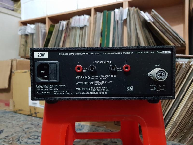 Naim NAC 72 Phono Pre-Amp with MC MM board and NAP 140 (Power Amp) 20180330