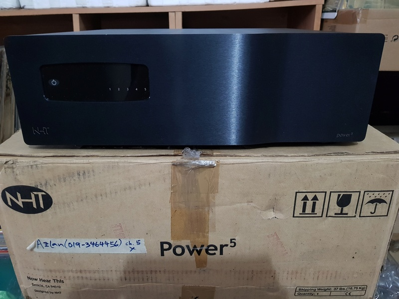 "NHT Power5 - 1000 watt Power Amp. (Free ""NHT Controller"" as a complimentary deck) 20180350"