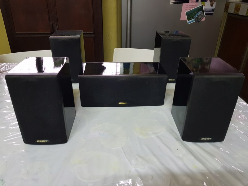 SOLD - ENERGY (Made in Canada) 5.0ch speakers 20180424