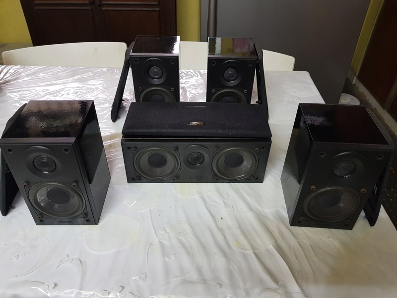 SOLD - ENERGY (Made in Canada) 5.0ch speakers 20180425