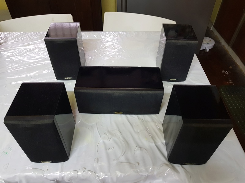 SOLD - ENERGY (Made in Canada) 5.0ch speakers 20180426