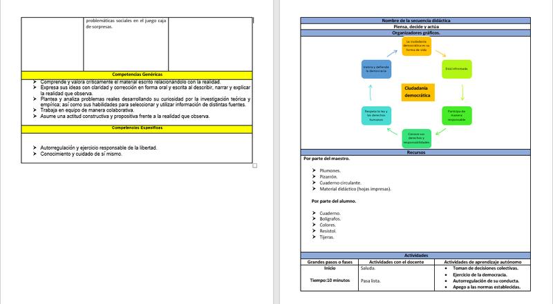 Ambiente de aprendizaje  S210