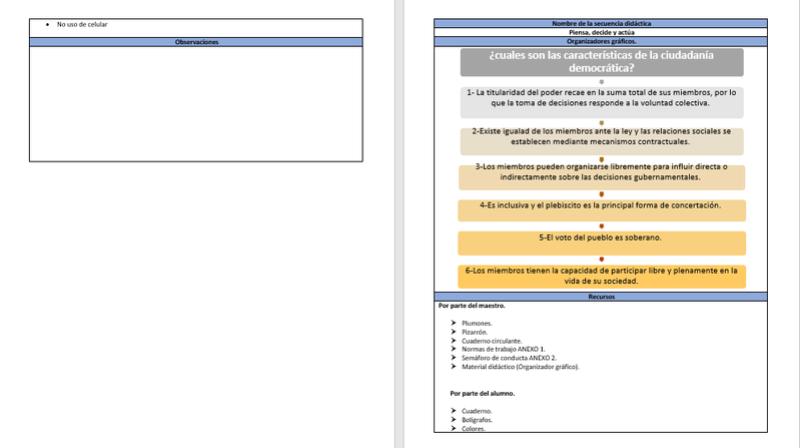 Ambiente de aprendizaje  S510