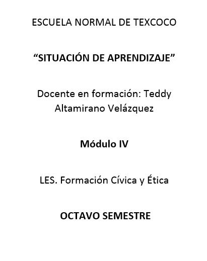 SITUACIÓN DE APRENDIZAJE Caratu11