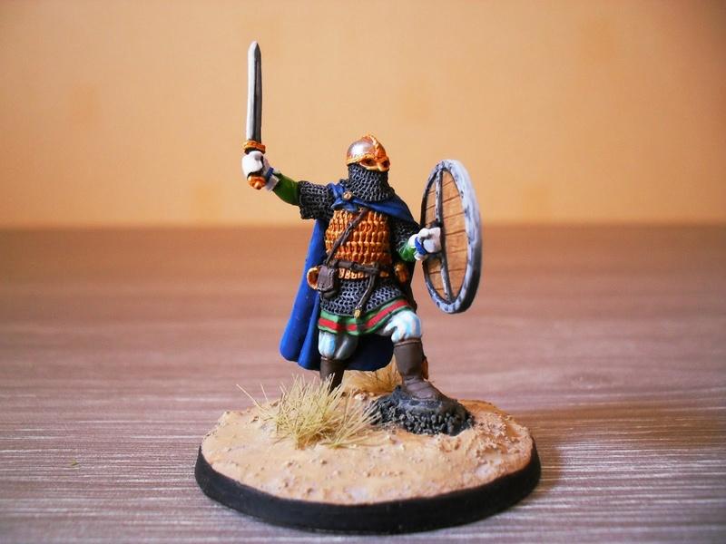 Chef de guerre Viking et guerriers fauves VV miniatures Sdc15110