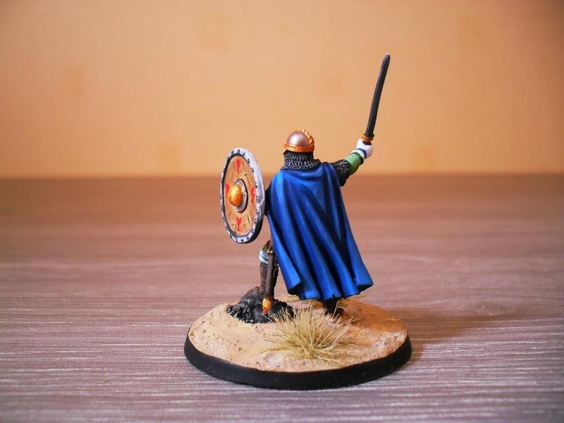 Chef de guerre Viking et guerriers fauves VV miniatures Sdc15112
