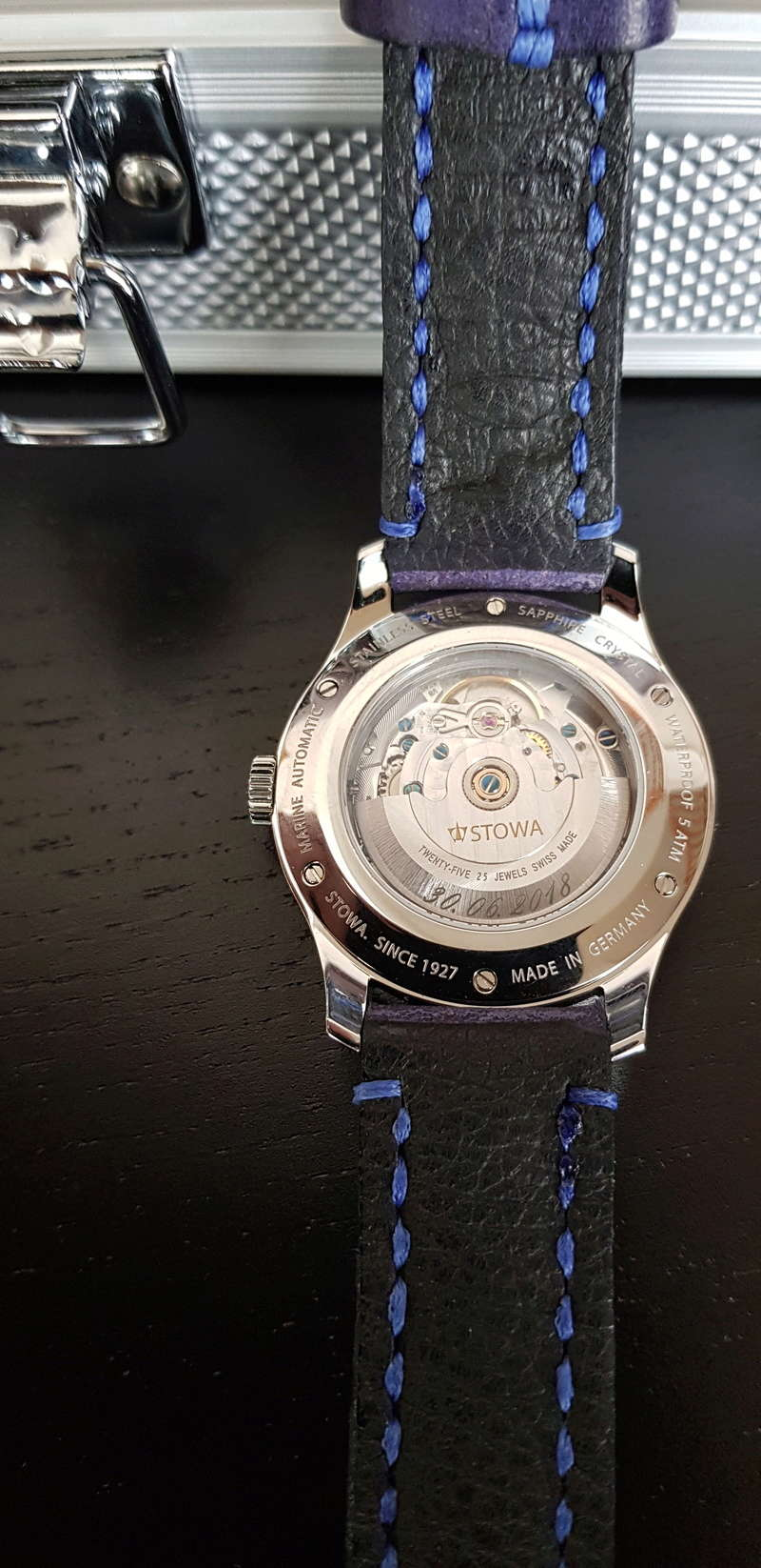 stowa - Présentation de ma montre de mariage - Stowa Stowa210