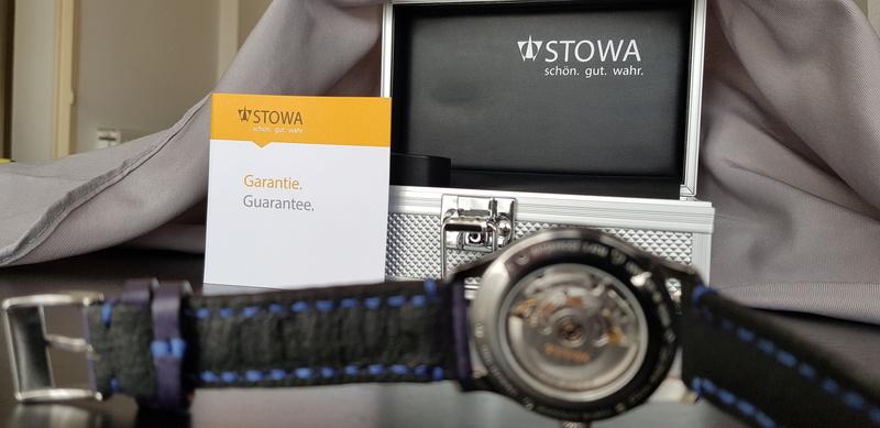 stowa - Présentation de ma montre de mariage - Stowa Stowa310