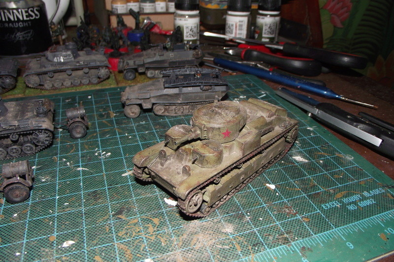converting armourfast sdkfz 251/1 to a sdkfz 251/7 Dscf6723