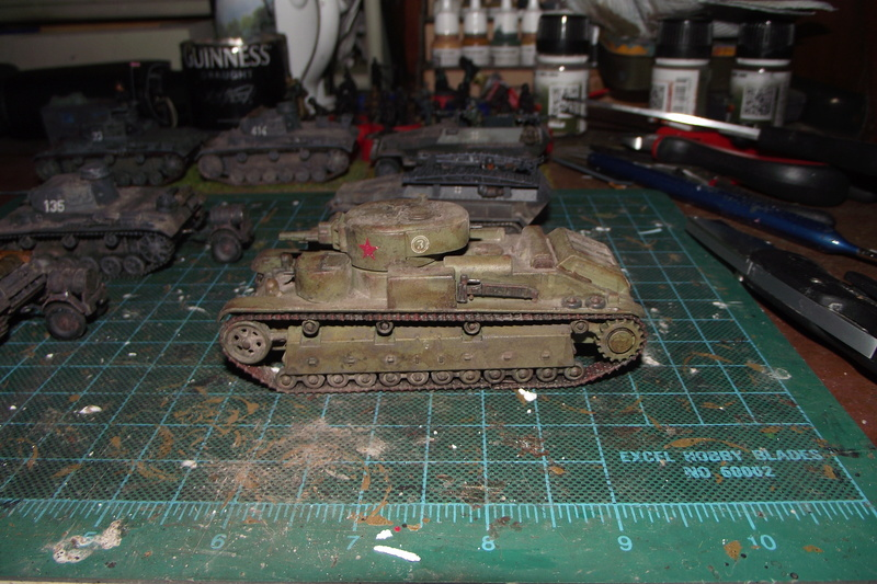 converting armourfast sdkfz 251/1 to a sdkfz 251/7 Dscf6724