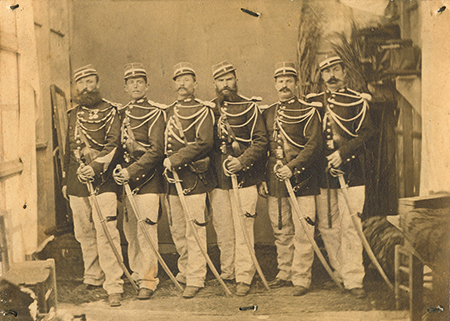 Sabre de cavalerie légère modèle 1822 : suppression du deuxième anneau Tunisi10