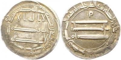 Dírham abasí, 192 H, Harun al-Rashid, Medinat al-Salam S-l40011