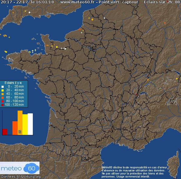 Bruit étrange en Bretagne ( Gourin, Moelan sur mer , Quimper, Huelgoat, Carhaix..  - Page 2 Foudre11