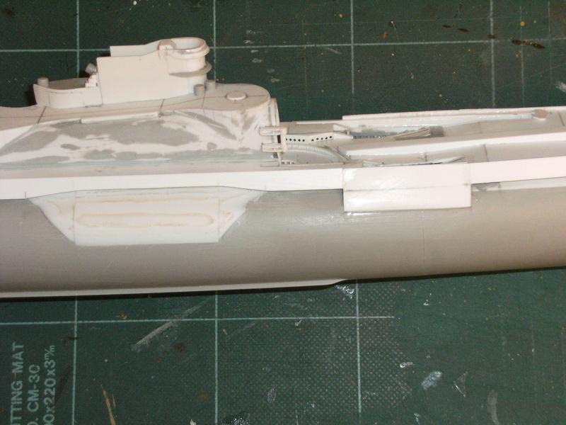 Sous-marin porte-avions japonais I-400 échelle 1/200° - Page 2 104_i-11