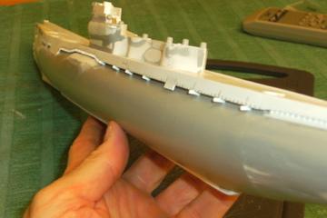 Sous-marin porte-avions japonais I-400 échelle 1/200° - Page 2 119_i-10