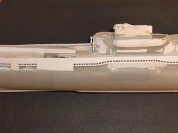 Sous-marin porte-avions japonais I-400 échelle 1/200° - Page 2 121_i-10