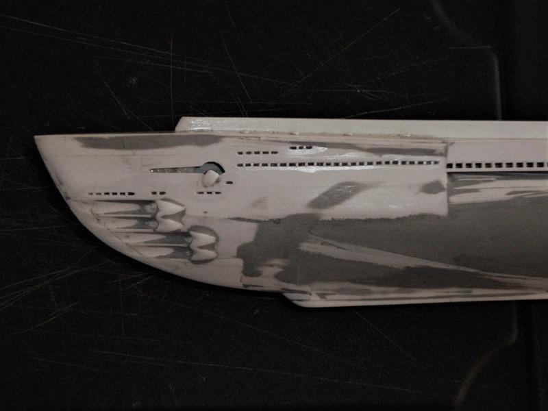 Sous-marin porte-avions japonais I-400 échelle 1/200° - Page 2 130_i-10