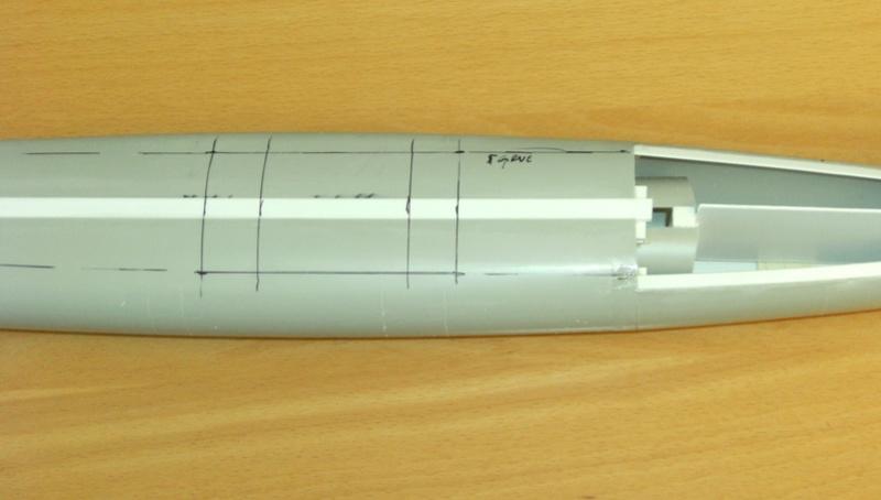 Sous-marin porte-avions japonais I-400 (scratch base Gato Trumpeter 1/200°) 15_i-410