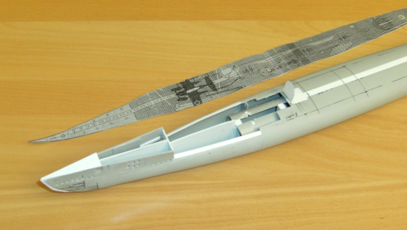 Sous-marin porte-avions japonais I-400 (scratch base Gato Trumpeter 1/200°) 18_i-410
