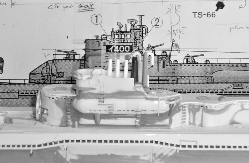 Sous-marin porte-avions japonais I-400 échelle 1/200° - Page 3 190_i-10