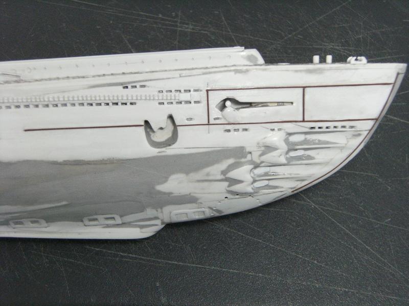 Sous-marin porte-avions japonais I-400 échelle 1/200° - Page 3 197_i-10
