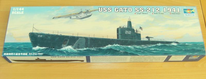 Sous-marin porte-avions japonais I-400 (scratch base Gato Trumpeter 1/200°) 1_i-4011