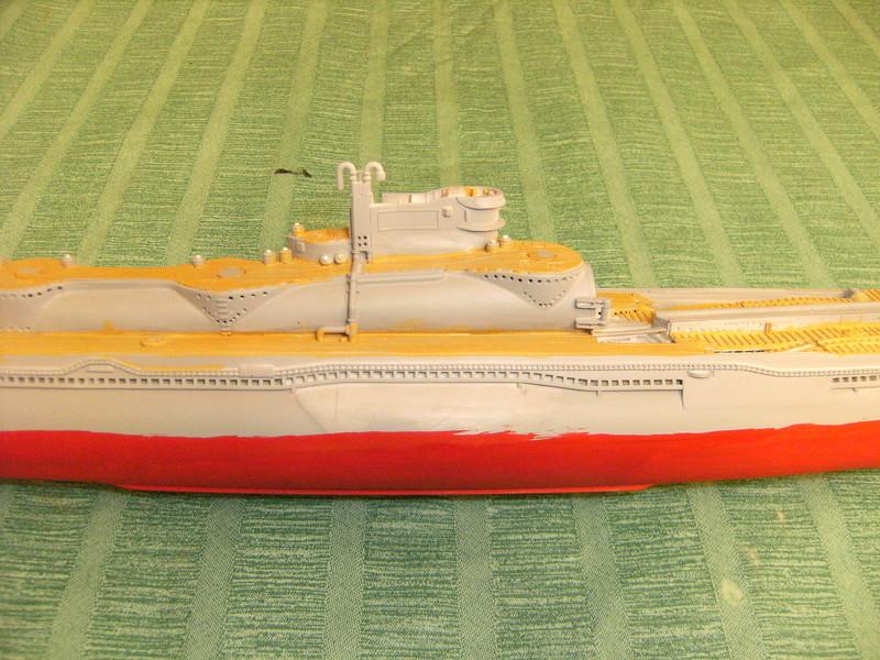 Sous-marin porte-avions japonais I-400 échelle 1/200° - Page 3 203_i-10