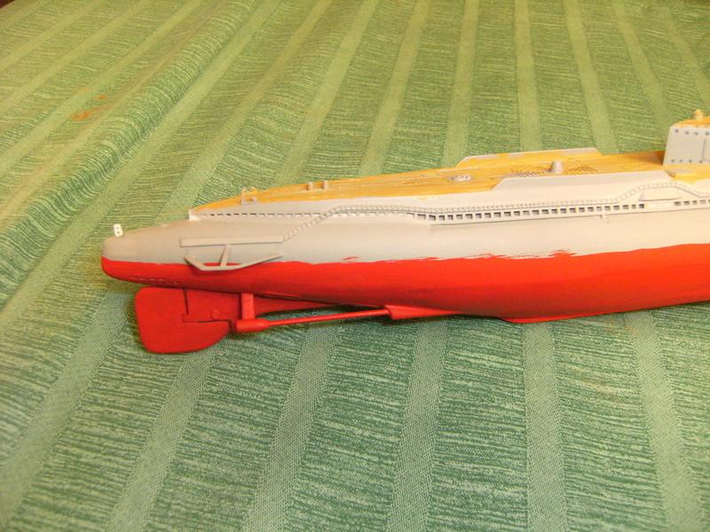 Sous-marin porte-avions japonais I-400 échelle 1/200° - Page 3 204_i-10