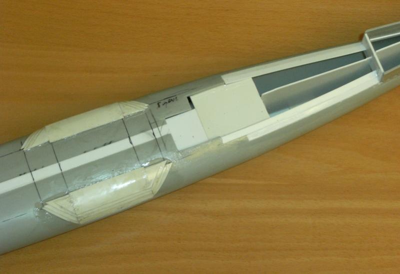 Sous-marin porte-avions japonais I-400 (scratch base Gato Trumpeter 1/200°) 20_i-410
