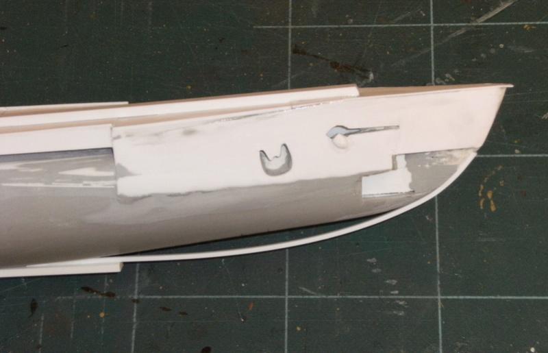 Sous-marin porte-avions japonais I-400 (scratch base Gato Trumpeter 1/200°) 28_i-411