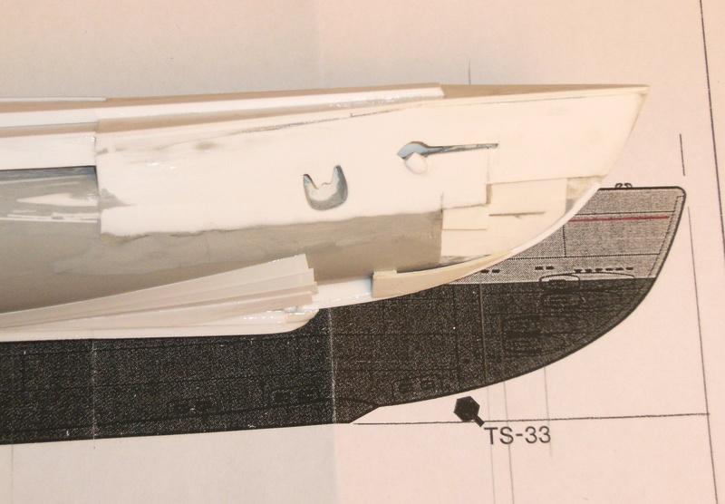 Sous-marin porte-avions japonais I-400 (scratch base Gato Trumpeter 1/200°) 30_i-411