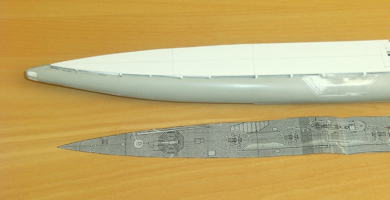 Sous-marin porte-avions japonais I-400 (scratch base Gato Trumpeter 1/200°) 43_i-410