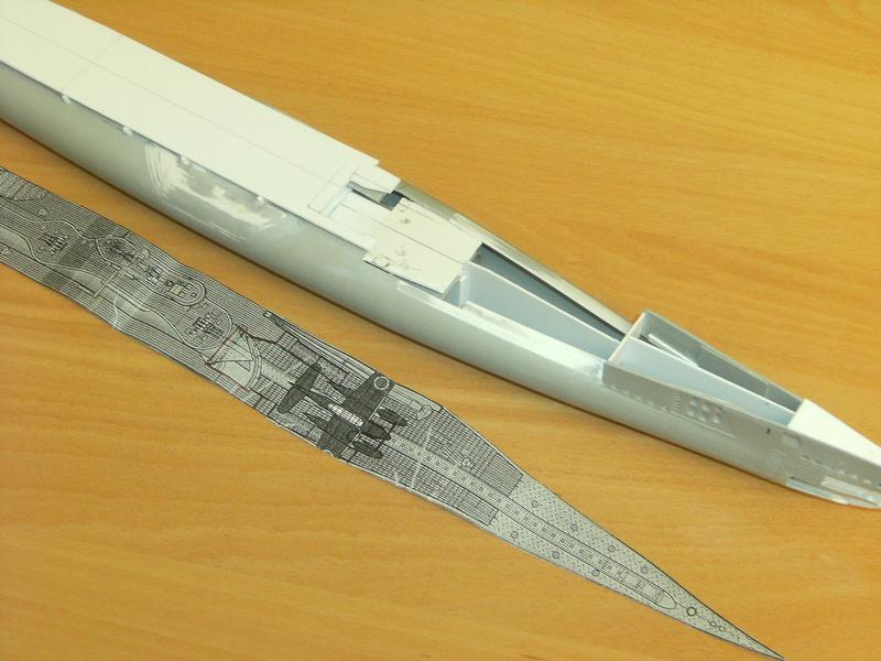 Sous-marin porte-avions japonais I-400 échelle 1/200° 44_i-410