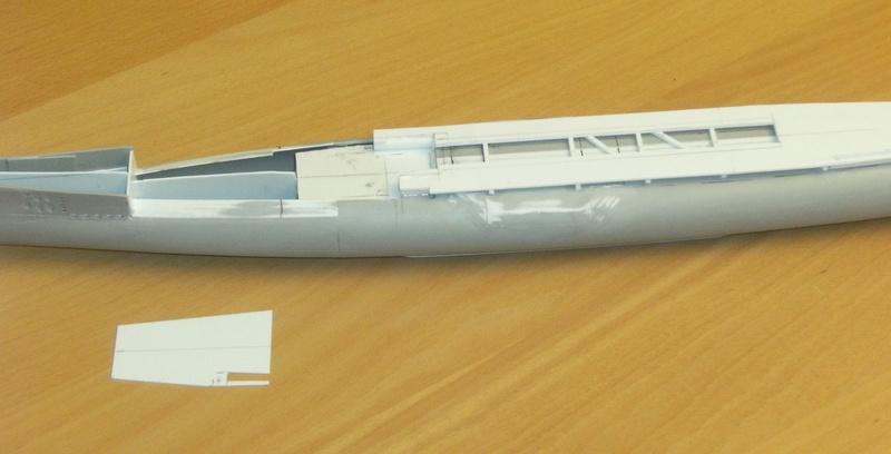 Sous-marin porte-avions japonais I-400 échelle 1/200° 45_i-410