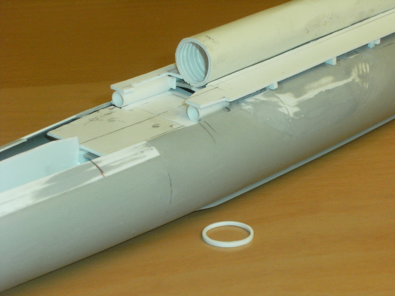 Sous-marin porte-avions japonais I-400 échelle 1/200° 50_i-410