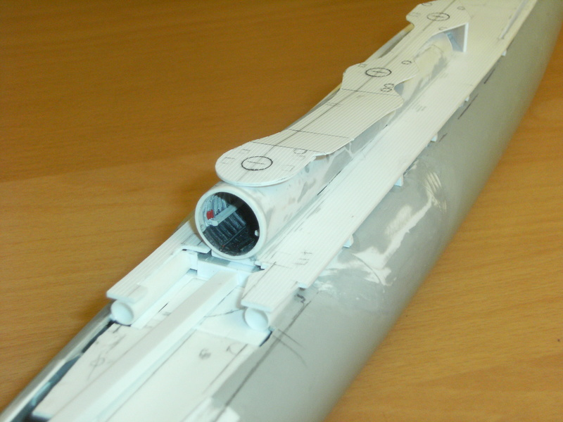Sous-marin porte-avions japonais I-400 (scratch base Gato Trumpeter 1/200°) 54_i-410
