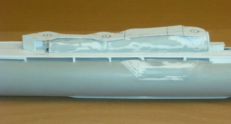 Sous-marin porte-avions japonais I-400 (scratch base Gato Trumpeter 1/200°) 56_i-410