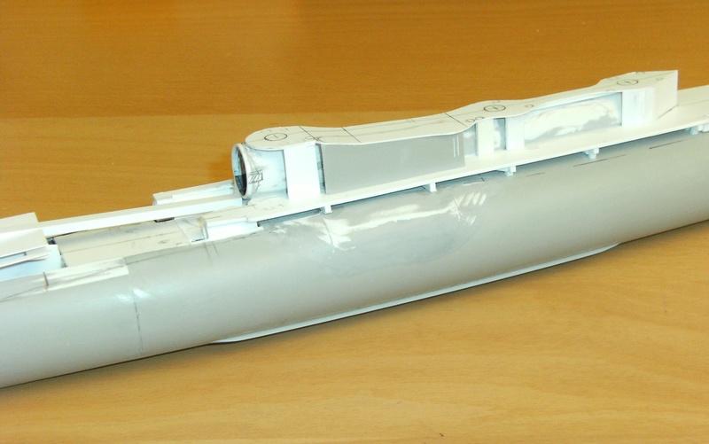 Sous-marin porte-avions japonais I-400 (scratch base Gato Trumpeter 1/200°) 57_i-410
